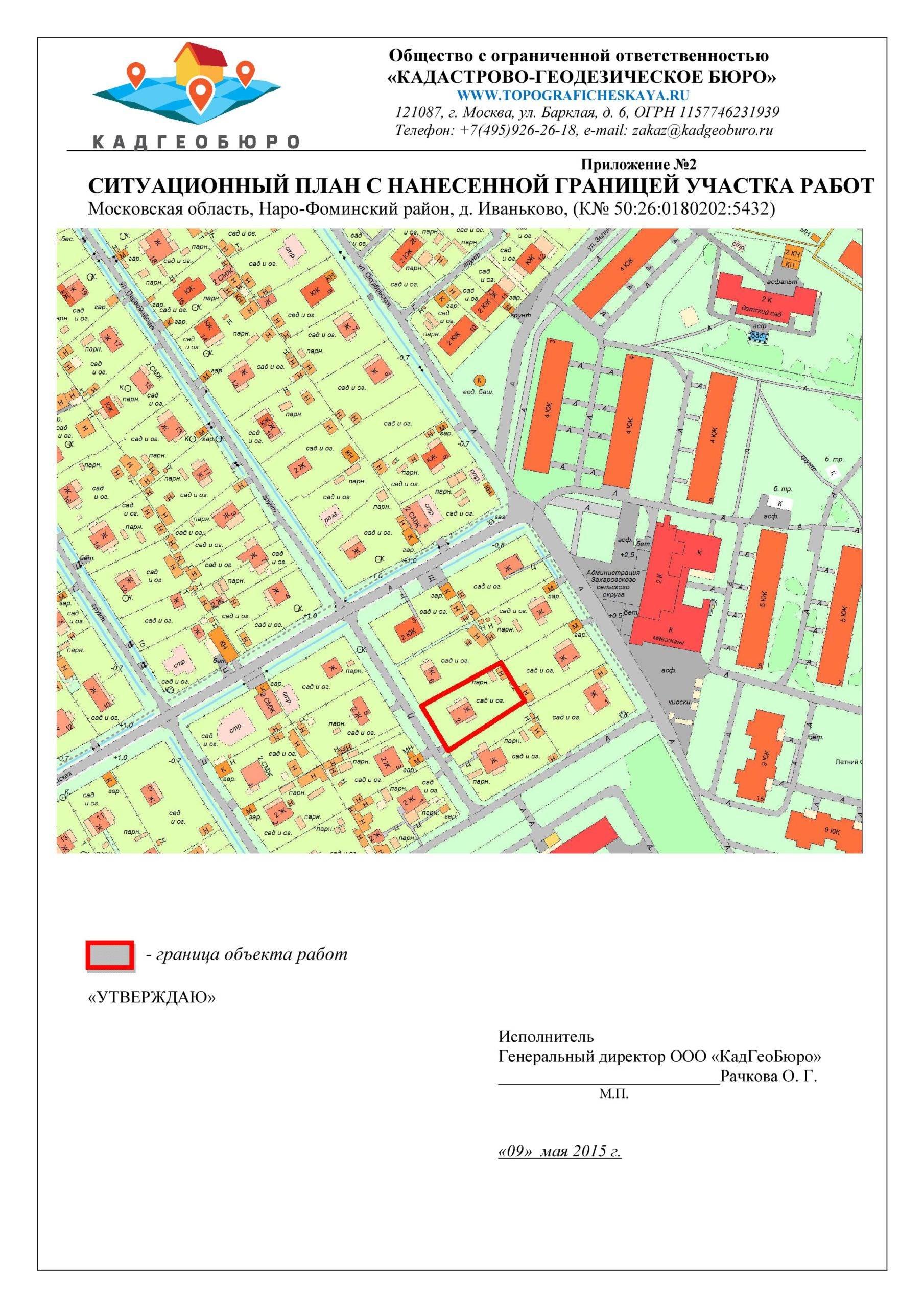 Описание геодезических работ при межевании земельных участков