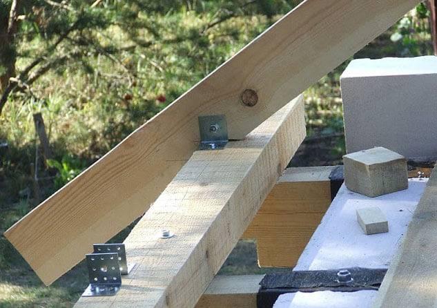 Как сделать двухскатную крышу: пошаговая инструкция в фото и видео