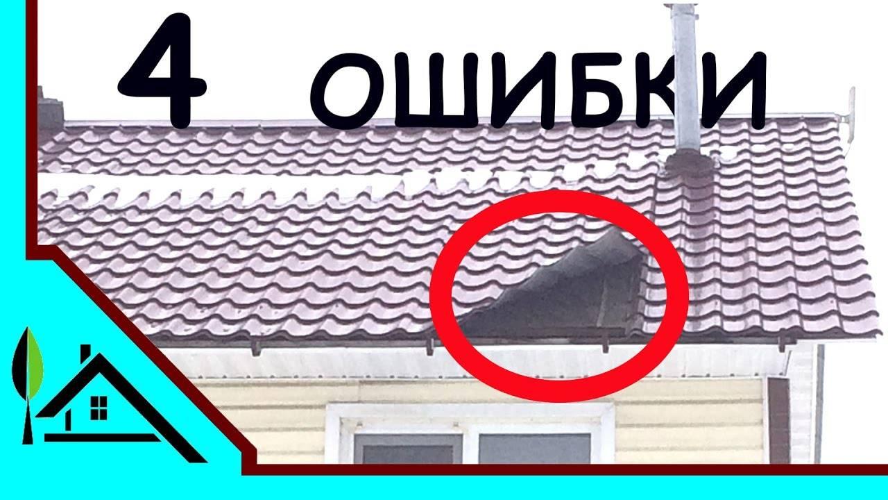Правила крепления профнастила саморезами на крыше: выбор крепежей