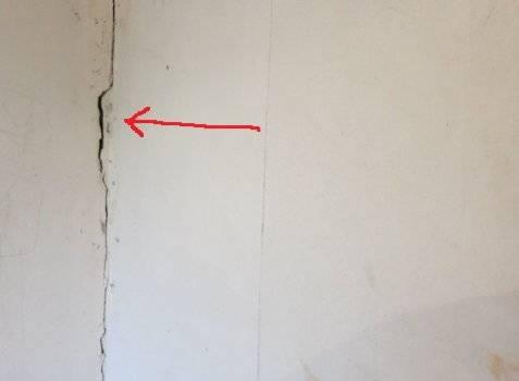 Устранение трещин в газобетонных стенах