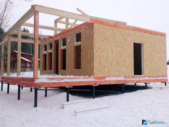 Баня из сип-панелей: технология строительства