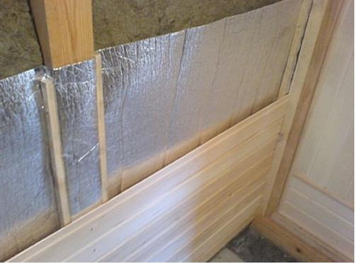 Как крепить имитацию бруса внутри дома