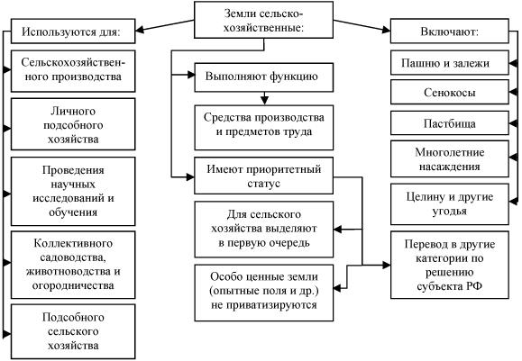 7 категорий земель: коды и описания основных видов, какие они бывают и чем отличаются по основному целевому назначению