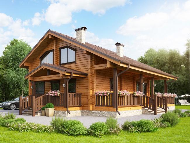 Как выбрать дом из бруса проект под ключ