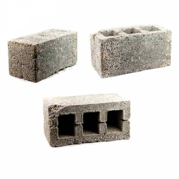 Бетонные блоки в строительстве