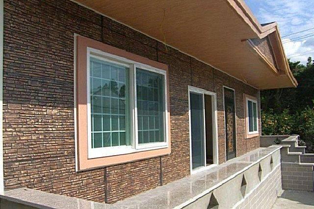 Технология отделки фасада частного дома панелями из поливинилхлорида