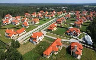 Действующие нормативы размеров земельных участков под ижс