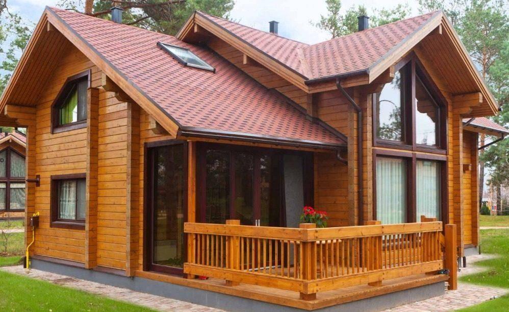 Дома из оцилиндрованного бревна: технология строительства