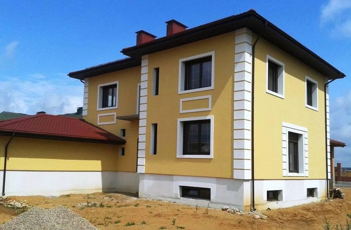 Краска водоэмульсионная фасадная: технические характеристики, расход, технология покраски фасадов