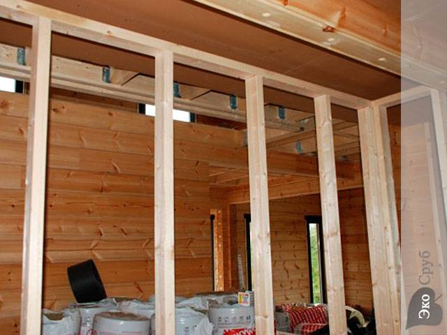 Как сделать стены дома из бруса своими руками: технология постройки и утепления стен брусового дома