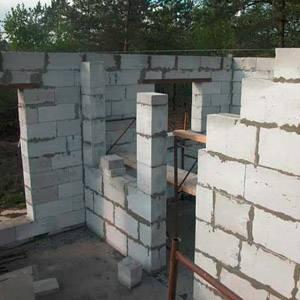 Построить гараж из газосиликатных блоков своими руками
