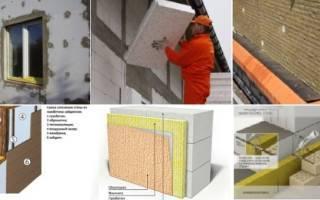 Технология утепления стен базальтовой ватой