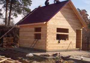 Дом из бруса своими руками - руководство по строительству