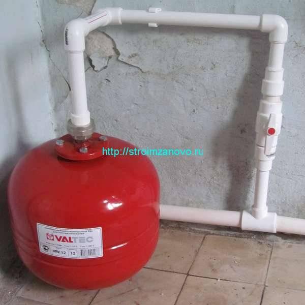 Для чего нужен расширительный бак в системе отопления частного дома