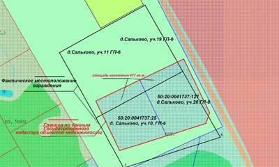 Изменение границ земельного участка