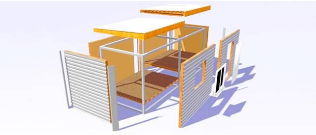 Баня из сип панелей: особенности, как построить своими руками, готовые проекты с фото