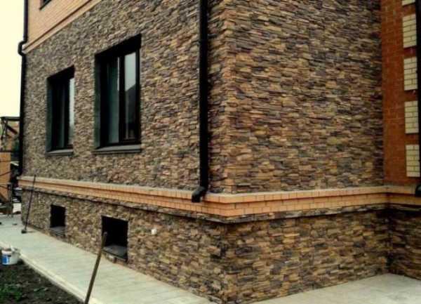 Облицовка фасада искусственным камнем своими руками - пошаговая технология!