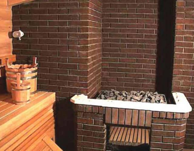 Рекомендации строителей, как строить кирпичную баню, выполнять кладку вокруг печи