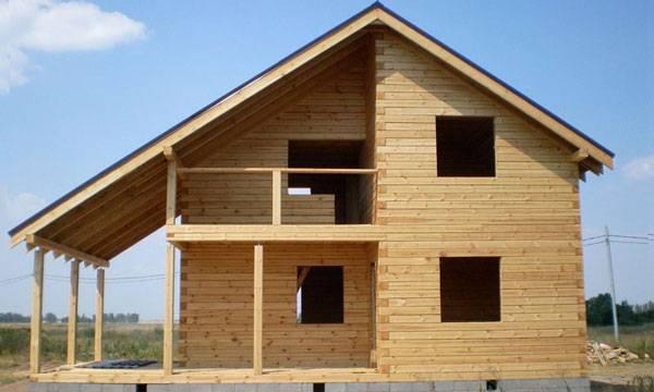 Домокомплект из клеёного бруса: что входит в набор для строительства, технология сборки, средняя цена по рф