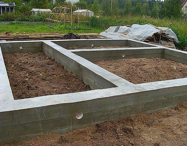 Технология строительства ленточного фундамента для дома своими руками