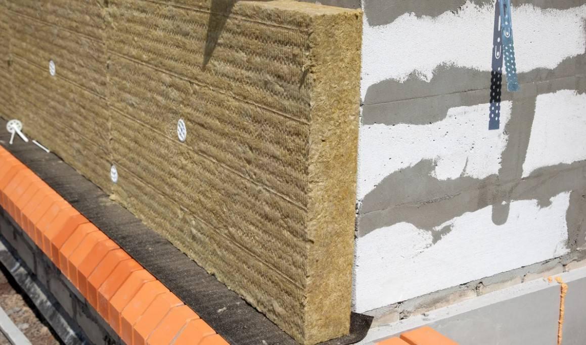 Утепление газобетона - каменная вата в системе вентилируемого фасада - дом и стройка - статьи