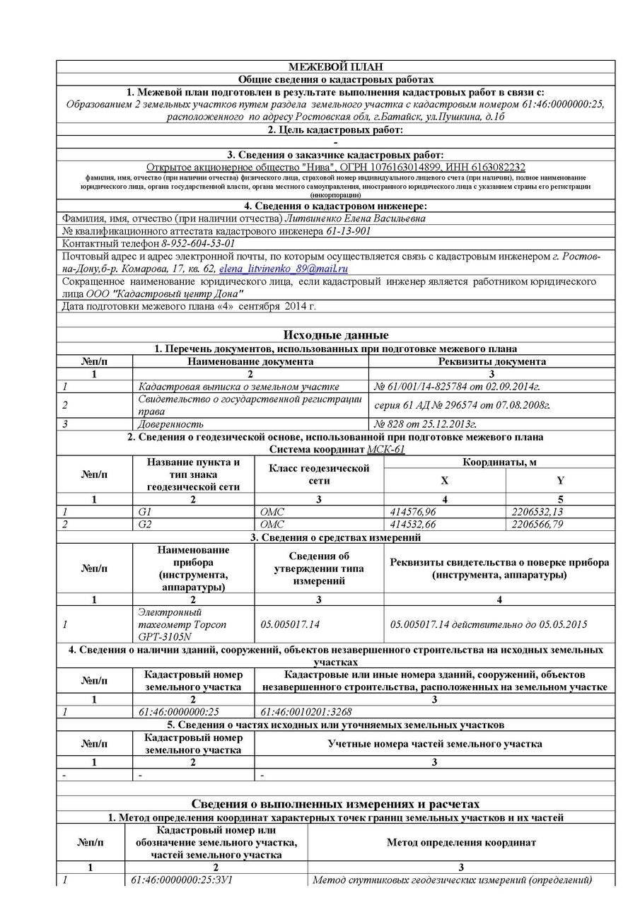 Документы для межевания земельного участка: перечень необходимых бумаг, образцы, особенности заполнения