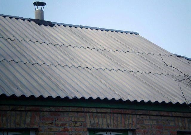8 способов заделать трещину в шифере на крыше