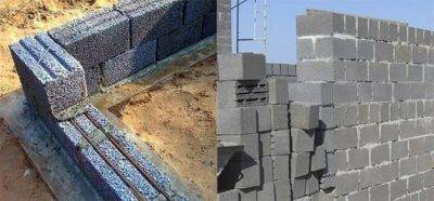 Технология кладки стен из керамзитобетонных блоков