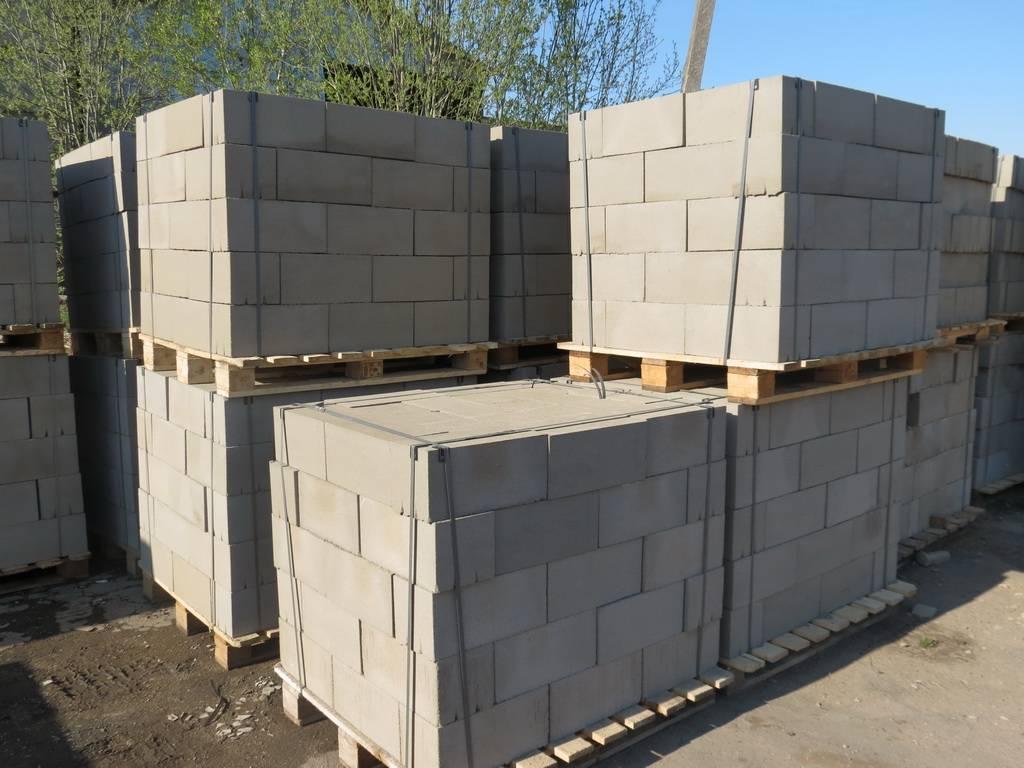 Пустотелые блоки для фундамента – стандарты и особенности