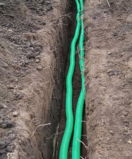 Все, что нужно знать о прокладке кабеля в траншее