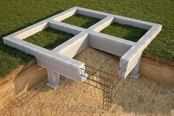 Строительство цокольного этажа на участке с уклоном