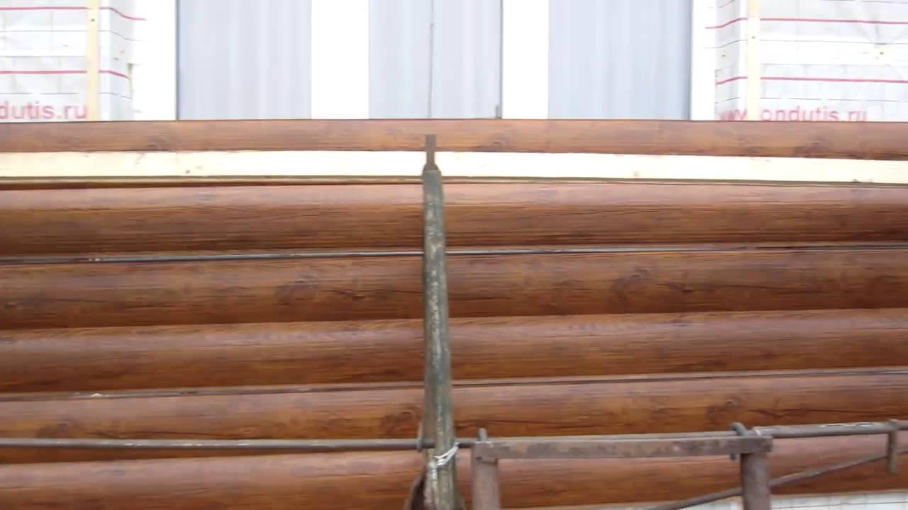Металлический сайдинг под дерево - выбор, технология монтажа