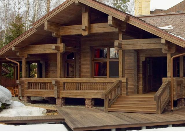 Сборка дома из профилированного бруса самостоятельно