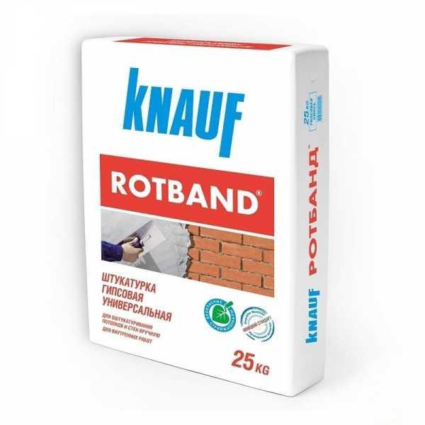 Штукатурка фасадная кнауф (knauf): расход смеси, сравнение видов унтерпутц (цементная) и грюнбанд в расфасовке 25 кг