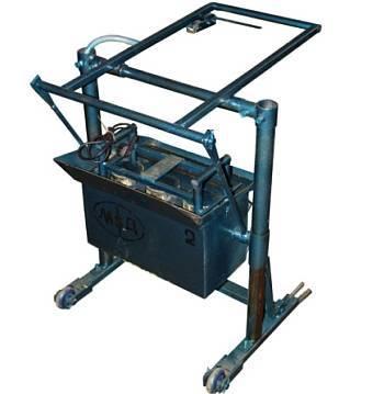 Станок для шлакоблоков: ручное и электронное оборудование. особенности самодельных продуктов