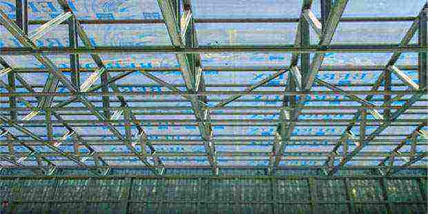 Фермы из профильной трубы: расчет металлической прямоугольной и арочной фермы, изготовление, как рассчитать конструкцию стропил, как варить односкатный навес