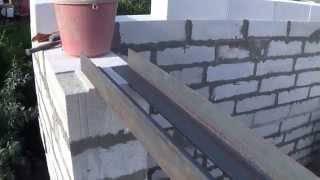 Опирание перемычек на кирпичную стену с учетом снип