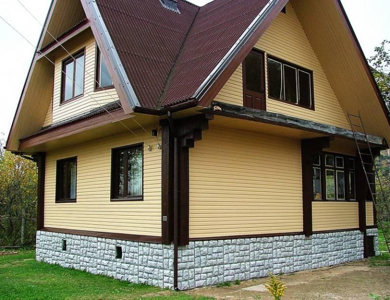 Штукатурка или сайдинг для фасада - что лучше и дешевле, а так же их достоинства и недостатки