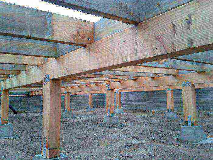 Нюансы возведения столбчатого фундамента из бетонных блоков
