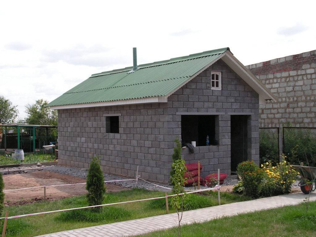 Стены из керамзитобетонных блоков за и против - клуб мастеров