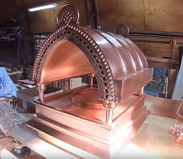 Как сделать колпак на трубу дымохода своими руками — чертежи и монтаж (фото, пошаговое видео)