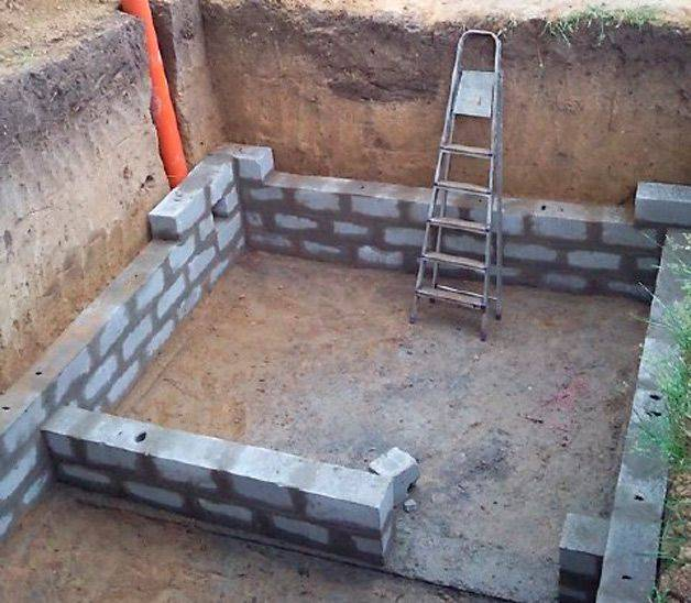 Материалы для строительства  погреба, подвала, гаража