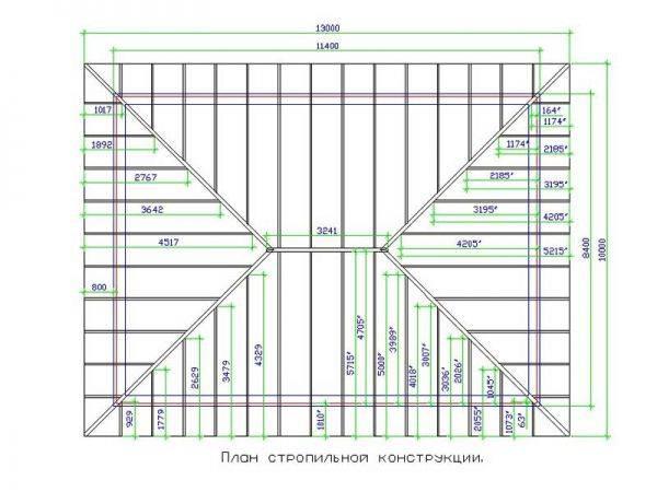 Как установить стропила вальмовой крыши – устройство, пошаговое руководство по монтажу