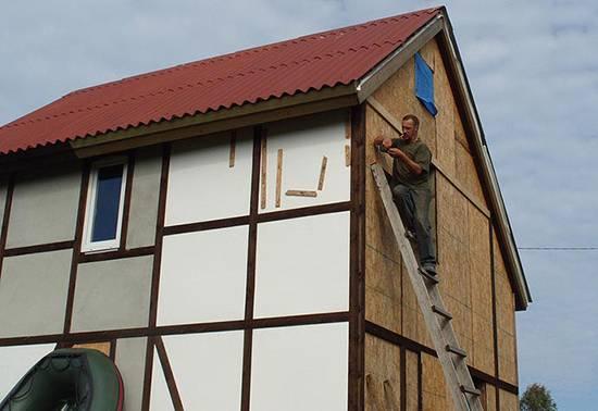 Как и чем покрасить ОСБ плиту на фасаде и нюансы выбора фасадной краски