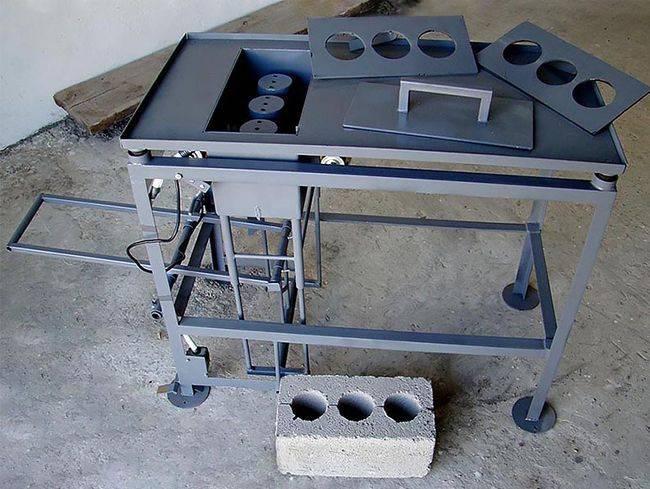 Какой станок нужен для для производства керамзитоблоков?