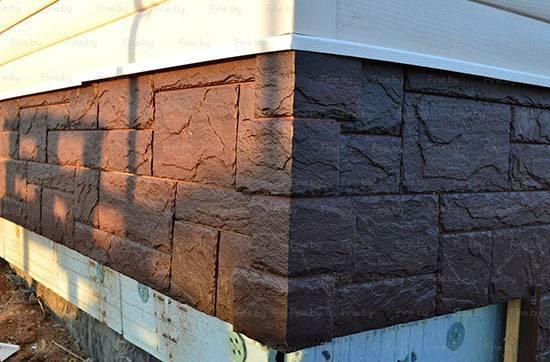 Фасадные панели (цокольный сайдинг) fineber (россия): монтаж, инструкция (+фото и видео)