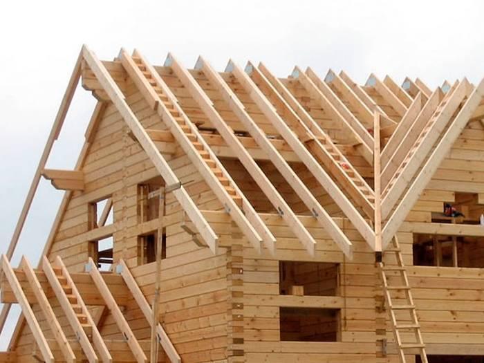 Дом из бруса своими руками - строительство от а до я!