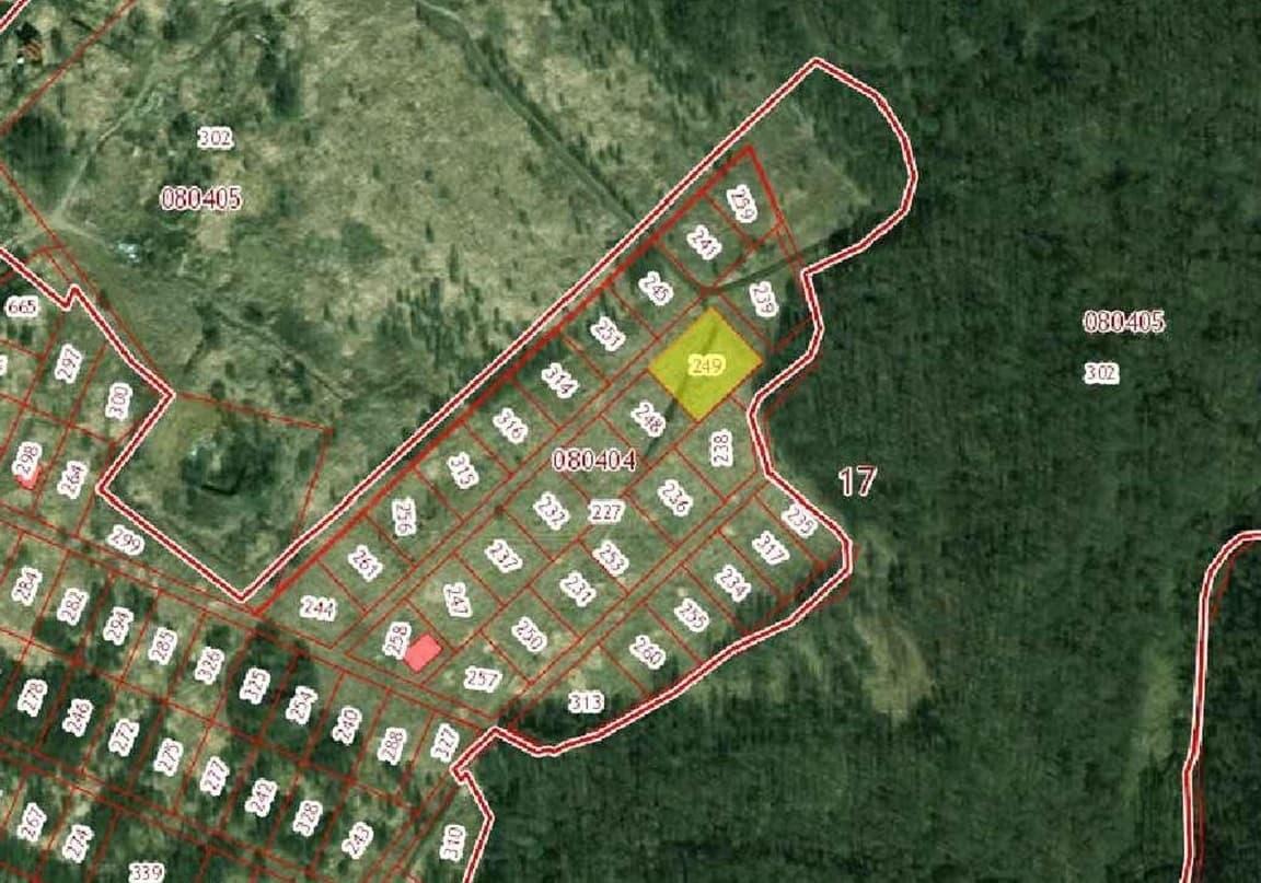 Установление местоположения границ земельного участка