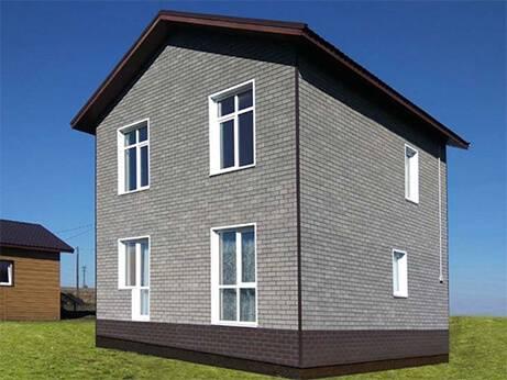 Фасадная плитка технониколь hauberk (хауберк): описание и инструкция по монтажу всех элементов + фото домов