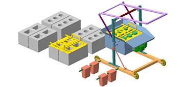 Станок для производства шлакоблоков: чертежи для производства в домашних условиях